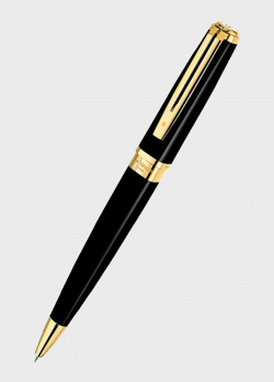 Шариковая ручка Waterman Exception Slim Black GT, фото