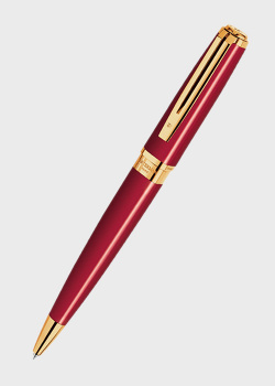 Шариковая ручка Waterman Exception Slim Red GT, фото