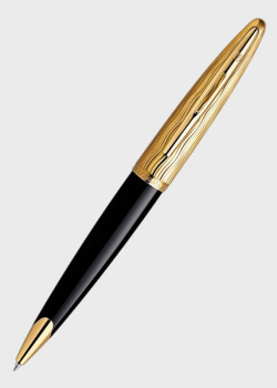 Шариковая ручка Waterman Carene Deluxe Essential Black GT, фото