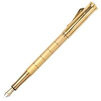 Перьевая ручка Graf von Faber-Castell Anello с позолотой и горизонтальными разделителями, фото