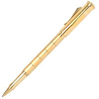 Ручка-роллер Graf von Faber-Castell Anello с позолотой и горизонтальными разделителями, фото