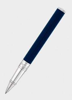 Ручка-роллер S.T.Dupont D-Initial синего цвета, фото