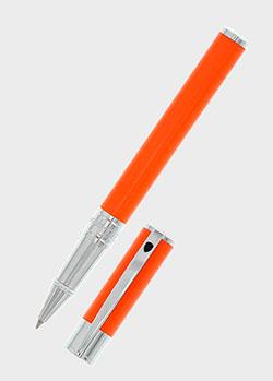 Ручка-роллер S.T.Dupont D-Initial оранжевого цвета, фото