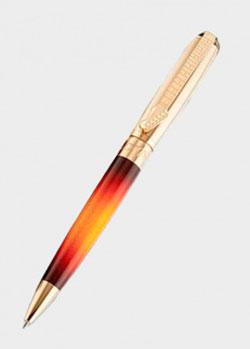 Шариковая ручка S.T.Dupont с золотой отделкой, фото