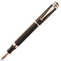 Перьевая черепаховая ручка Montegrappa Ducale Brown Emperador, фото