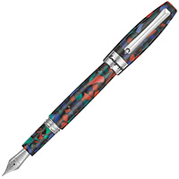 Ручка перьевая Montegrappa Fortune Mosaico Aurora Borealis (Northern Lights), фото