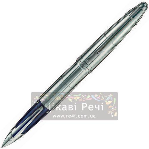 Серебряная перьевая ручка Waterman Edson Silver, фото