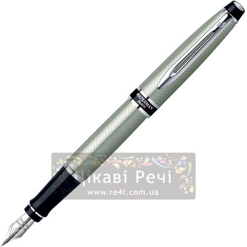 Перьевая ручка с чехлом Waterman Expert Urban Silver CT, фото