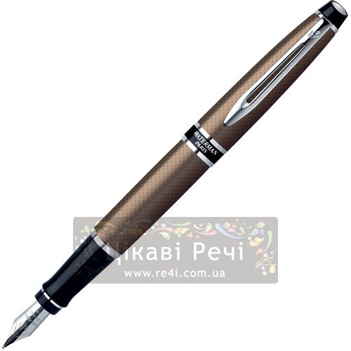 Перьевая ручка с чехлом Waterman Expert Urban Brown CT, фото
