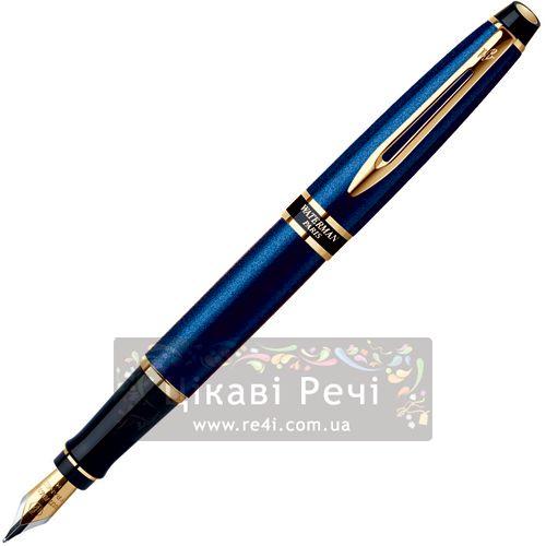 Перьевая ручка Waterman Expert Smart Blue GT, фото
