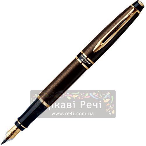 Перьевая ручка Waterman Expert Smart Brown GT, фото
