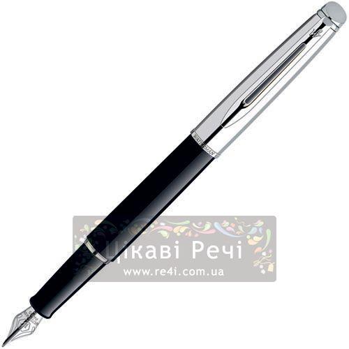 Перьевая ручка Waterman Hemisphere Moonlight Silky Black, фото