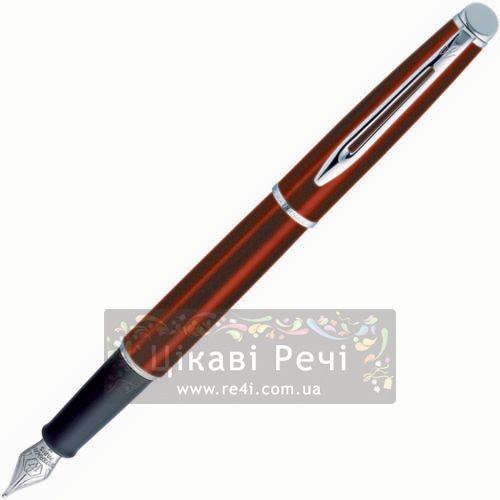 Перьевая ручка Waterman Hemisphere Metallic Cognac CT, фото