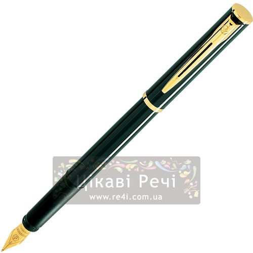 Перьевая ручка Waterman Apostrophe GT Black, фото