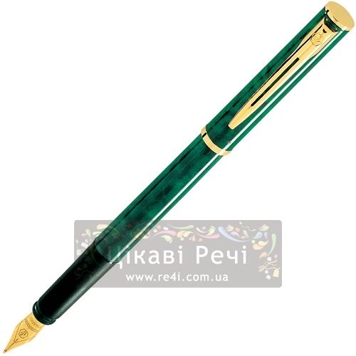 Перьевая ручка Waterman Apostrophe GT Green, фото
