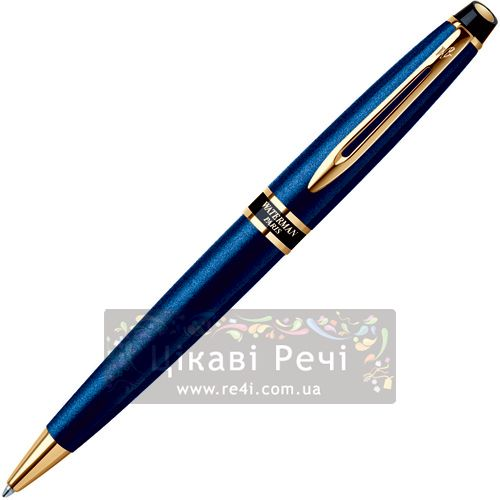 Шариковая ручка Waterman Expert Smart Blue GT, фото