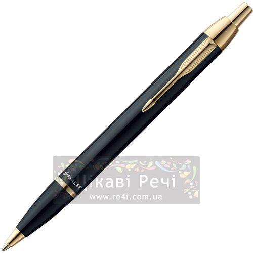 Шариковая ручка Parker IM Black GT, фото