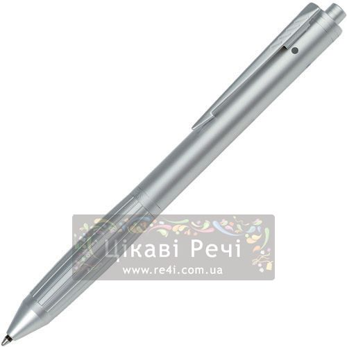 Многофункциональный инструмент: Шариковая ручка двух цветов и Карандаш и выделитель Parker Executive QP Matte Chrome Highlight, фото