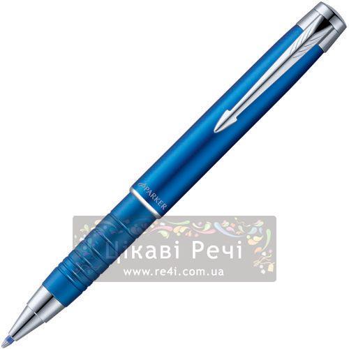 Шариковая ручка Parker Esprit Matte Blue Metal CT, фото