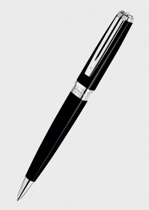 Шариковая ручка Waterman Exception Slim Black ST, фото