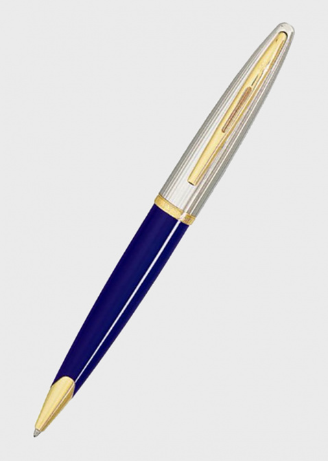 Шариковая ручка Waterman Carene Deluxe Blue/Silver, фото