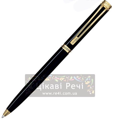 Шариковая ручка Waterman Harmonie Black GT, фото
