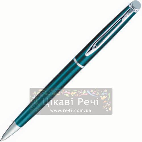 Шариковая ручка Waterman Hemisphere Metallic Blue CT, фото