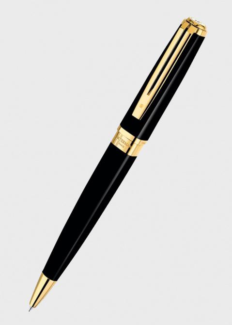 Ручка-роллер Waterman Exception Slim Black GT, фото