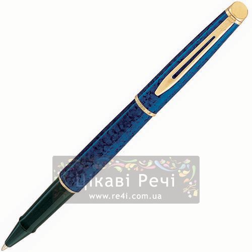 Ручка-роллер Waterman Hemisphere Marblad Blue, фото