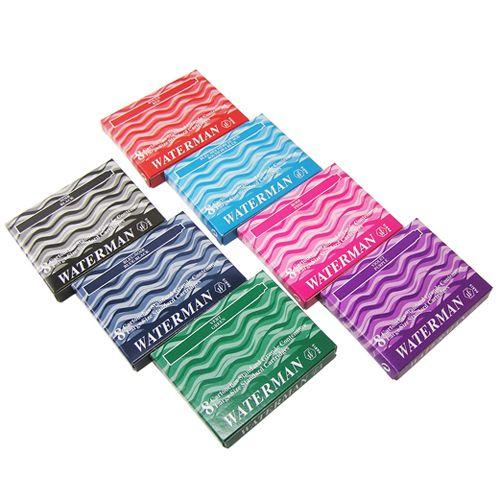 Картриджи Waterman зеленые  в наборе из 7 упаковок, фото