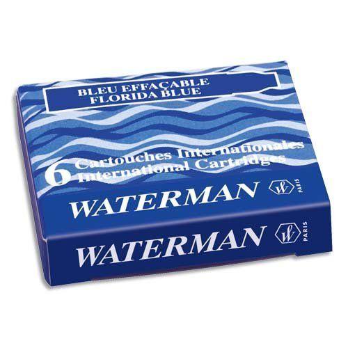 Картриджи Waterman Mini синие, фото