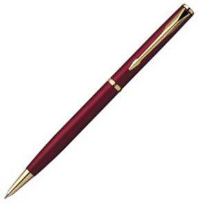 Шариковая ручка Parker Insignia Satin Burgundy GP, фото