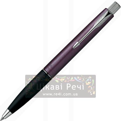 Шариковая ручка Parker Frontier Luna Purple CT, фото
