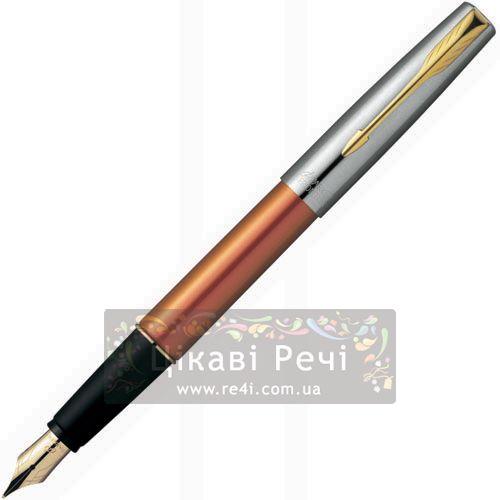 Перьевая ручка Parker Frontier Dawn-Orange GT, фото