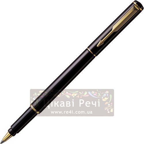 Шариковая ручка Parker Rialto Laqua Black, фото