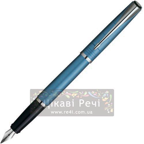 Перьевая ручка Parker Latitude Slate Blue CT, фото