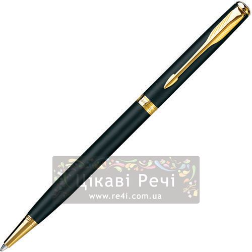 Шариковая ручка Parker Sonnet 08 Slim Matte Black, фото