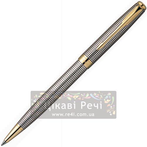 Серебряная шариковая ручка Parker Sonnet 08 SS Cisele, фото