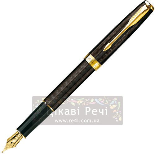 Перьевая ручка Parker Sonnet 08 Chiselled Chocolate GT, фото