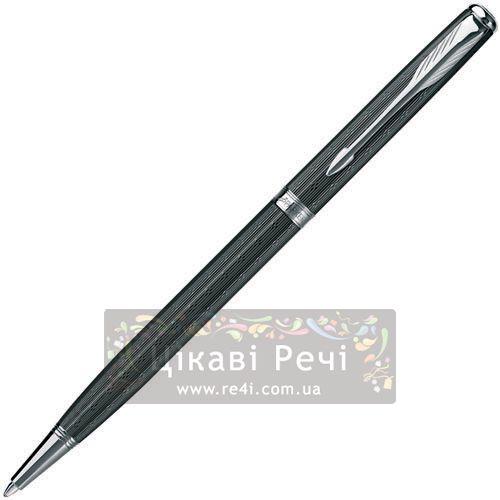Шариковая ручка Parker Sonnet 08 Slim Chiselled Carbon PT, фото