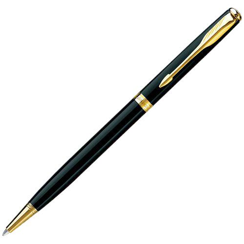 Шариковая ручка Slim Parker Sonnet 08 Laque Black, фото