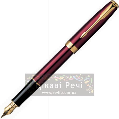 Перьевая ручка Parker Sonnet 04 Laque R.Red GT, фото