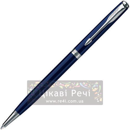 Шариковая ручка Parker Sonnet 08 Slim Laque Blue ST, фото