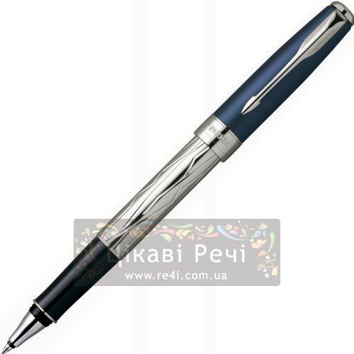 Перьевая ручка Parker Sonnet 04 Silver-Blue, фото