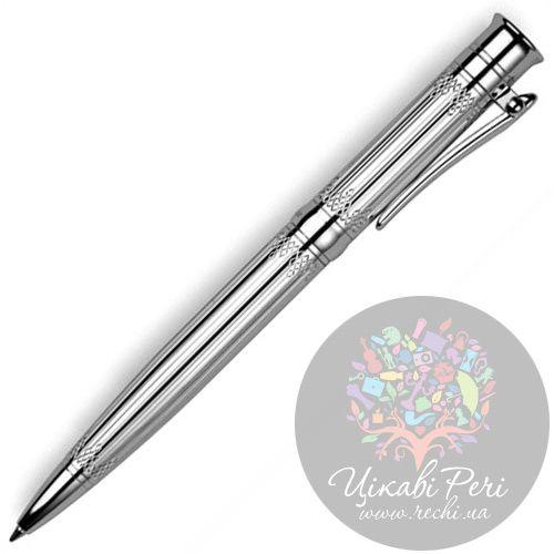 Серебрянная шариковая ручка Ника Классик 9304.0.9.01, фото