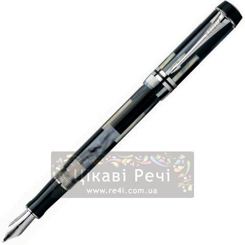 Перьевая ручка Parker Duofold Mosaic Black, фото