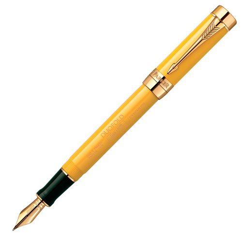 Перьевая ручка Parker Duofold Centennial Mandarin 125th Anniversary (Lim.Ed 1088), фото