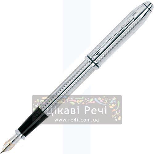 Перьевая ручка Cross Townsend Platinum Plated, фото