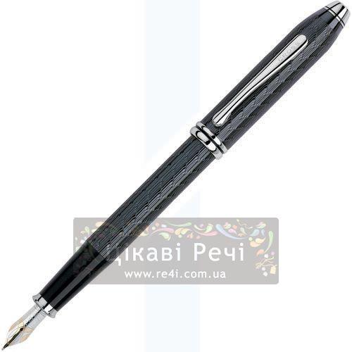 Перьевая ручка Cross Townsend Titanium Herringbone, фото