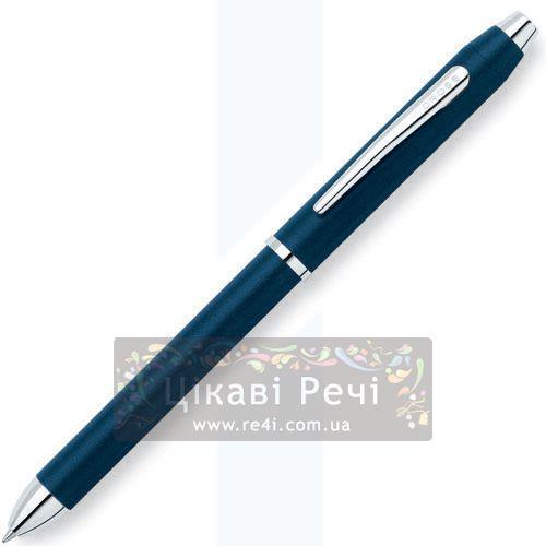 Многофункциональная ручка Cross Tech 3 Blue/Chrome, фото